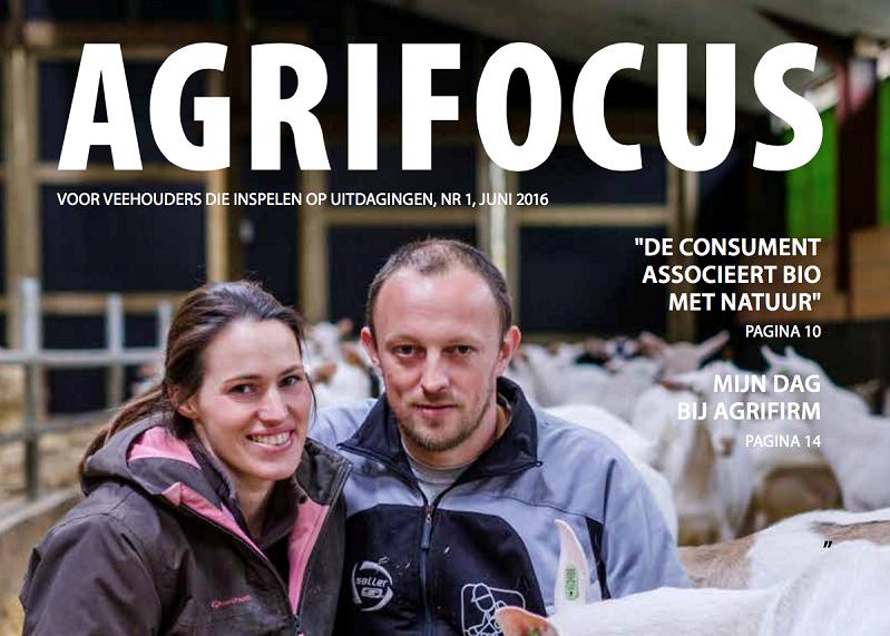 Reportages voor magazine Agrifocus van Agrifirm
